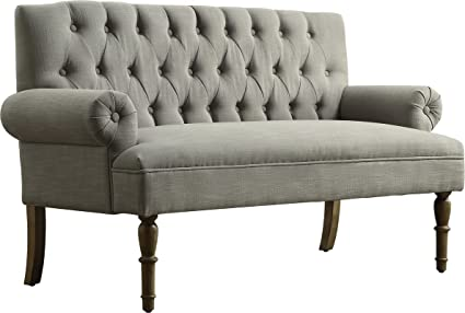 Etonnant Luxury Vintage Style Tufted Graceful Settee, Inspired By The Traditional  English Style Furniture, Featuring