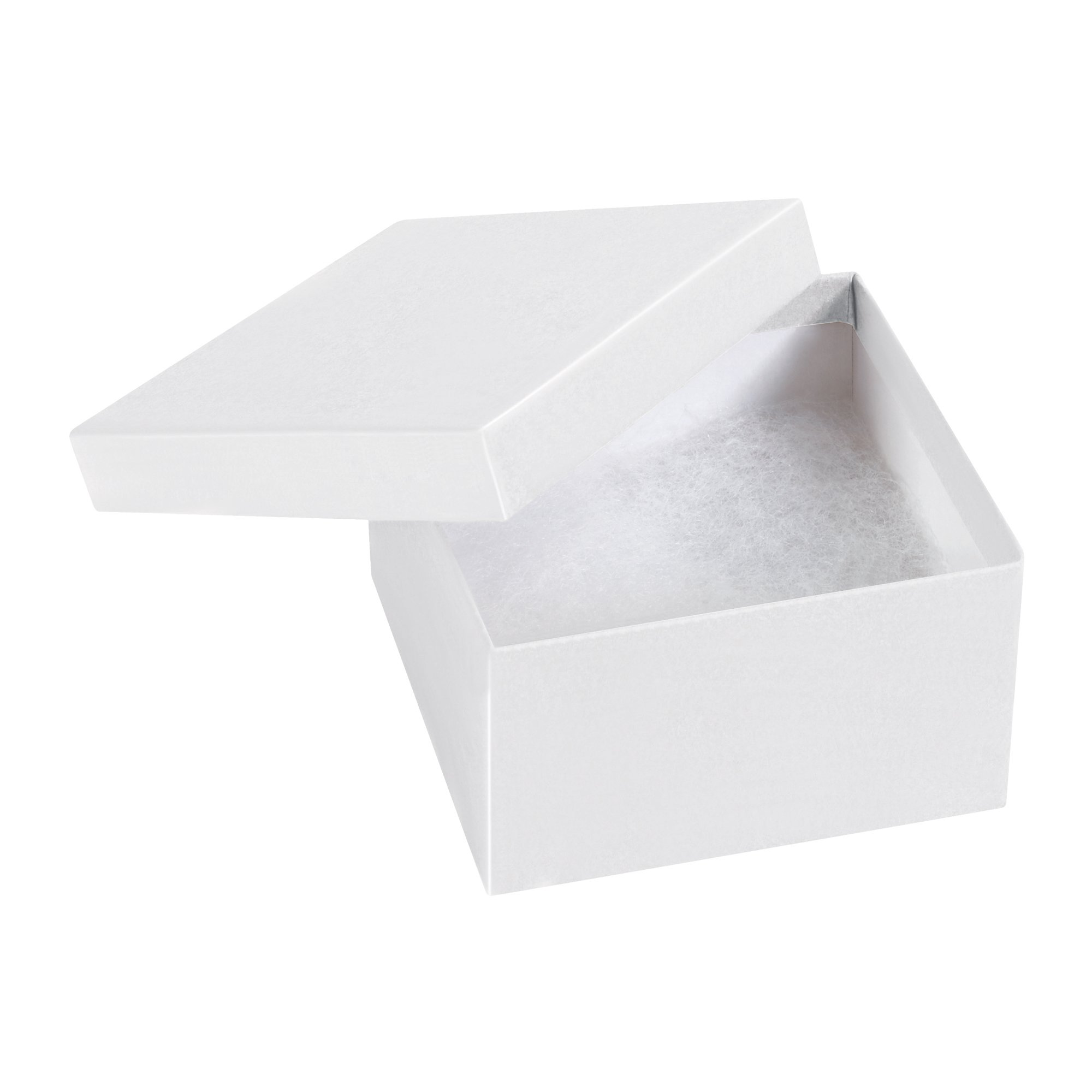 Boxes Fast BFJB332W Jewelry boxes, Load Capacity, 3.5'' Length, 3.5'' width, 2'' Thick,, White ( 00)