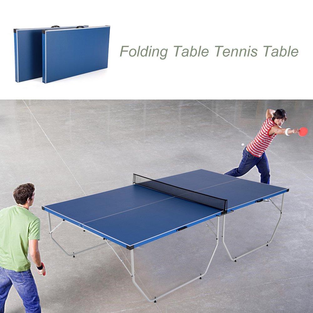 Portátil Ping Plegable De Lixada Mesa Tenis 108 Pong K1FJ3lTc