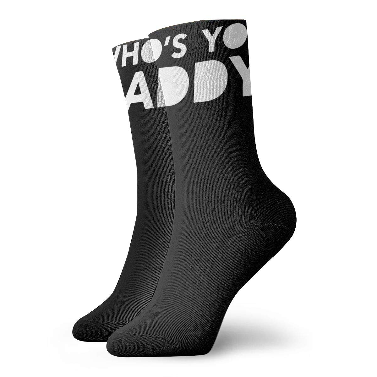 Whos Your Daddy Fashion Dress Socks Short Socks Leisure Travel 11.8 Inch