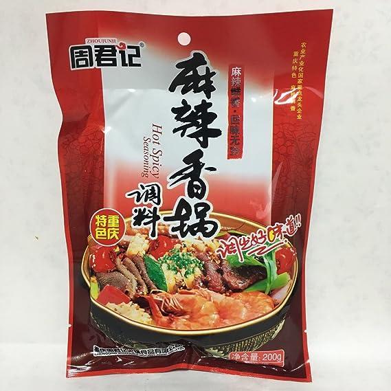 Que contiene 200 g de condimento chino seco en la circunferencia de cae?amo Sr