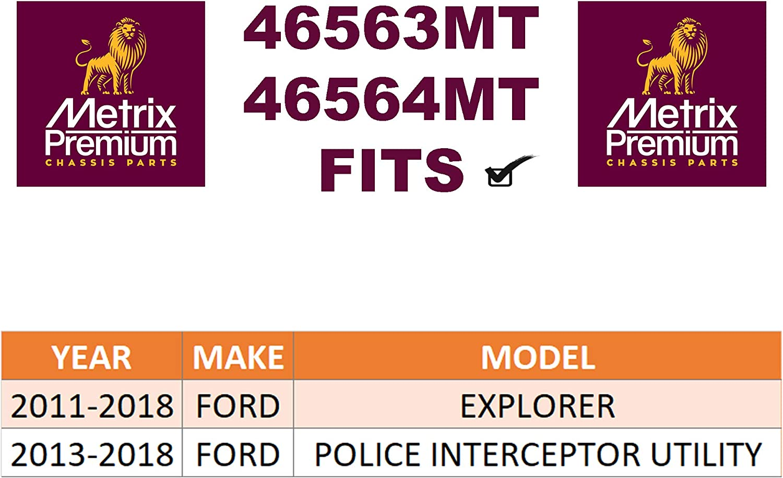 Front Left /& Right Stabilizer Bar Link Kit 2011-2018 Ford EXPLORER For Made in TURKEY 2013-2018 Ford POLICE INTERCEPTOR UTILITY K750617 /& K750616