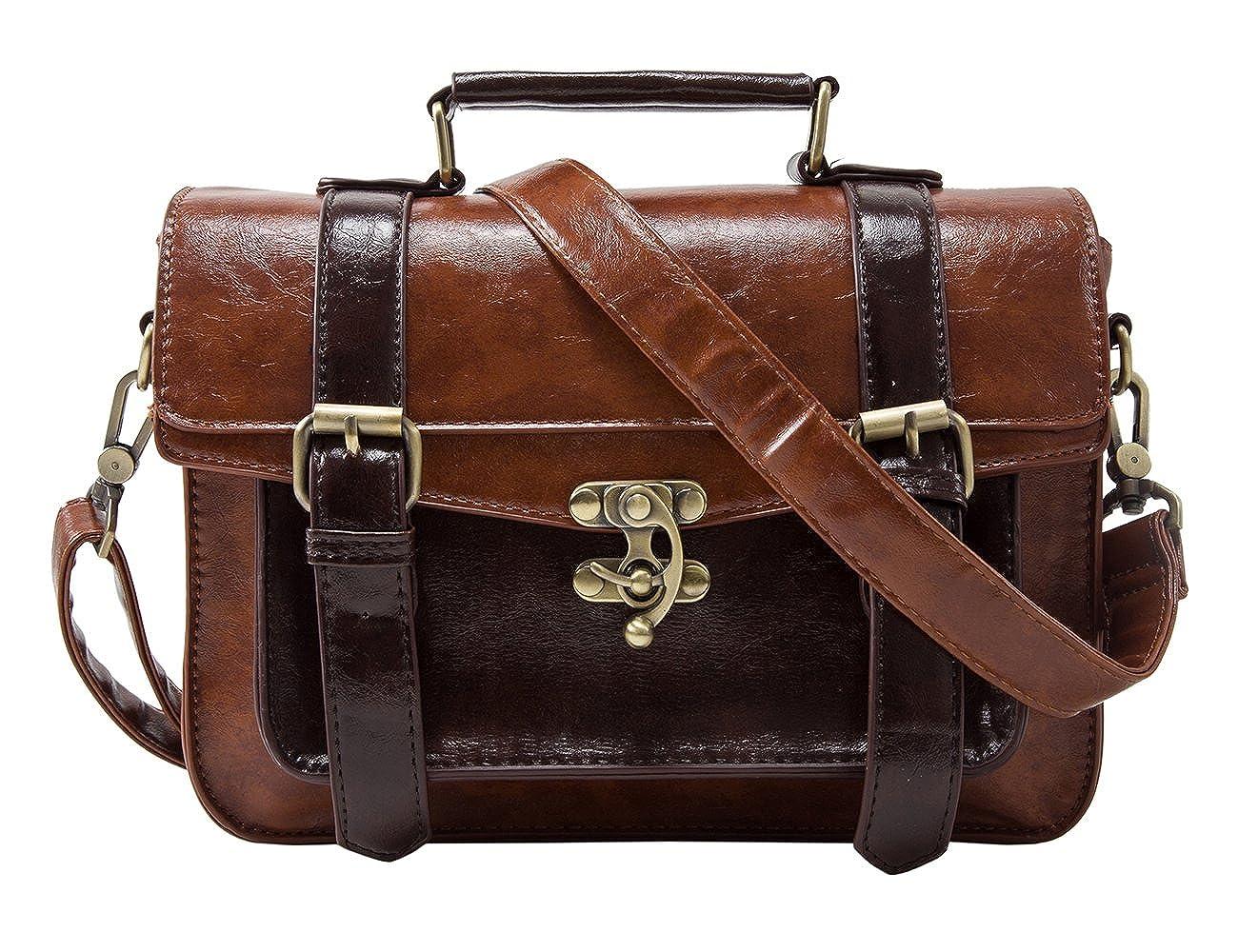 d061e054171e ECOSUSI Designer Women Vintage Messenger Bag Satchel Purse