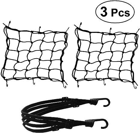 1 paio di corde per portabagagli posteriori per auto