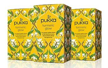 Puka Glow Herbal Turmeric Tea