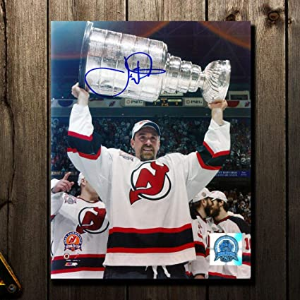 Image Unavailable. Image not available for. Color  Joe Nieuwendyk New  Jersey Devils 2003 Stanley Cup Autographed 8x10 f1200323a