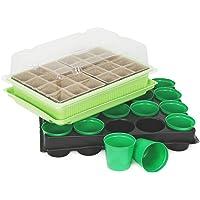 COM-FOUR® pots à semences et serres d'intérieur avec accessoires pour la culture de plantes