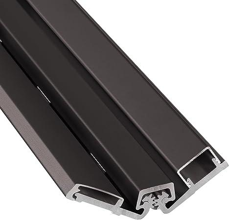 shower hardware /& door hinges Full Surface Continuous Geared door hinges 30 Series Full Surface Type in Bronze Finish Durable door hardware