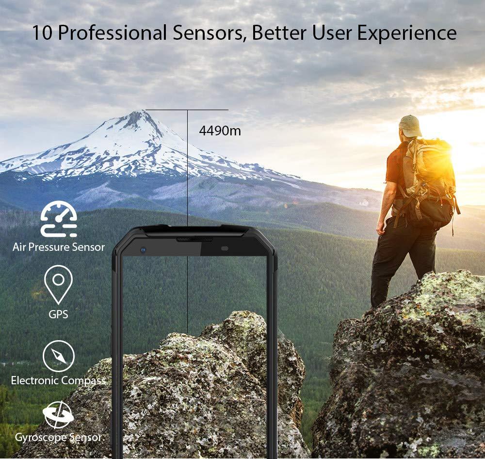 Matoen BLACKVIEW BV9500 Three Anti-Smart Phone 4GB 64GB Octa Core 5.7-inch Screen 16mp DualSim Android 8.1 Smartphone (Green) by Matoen (Image #8)