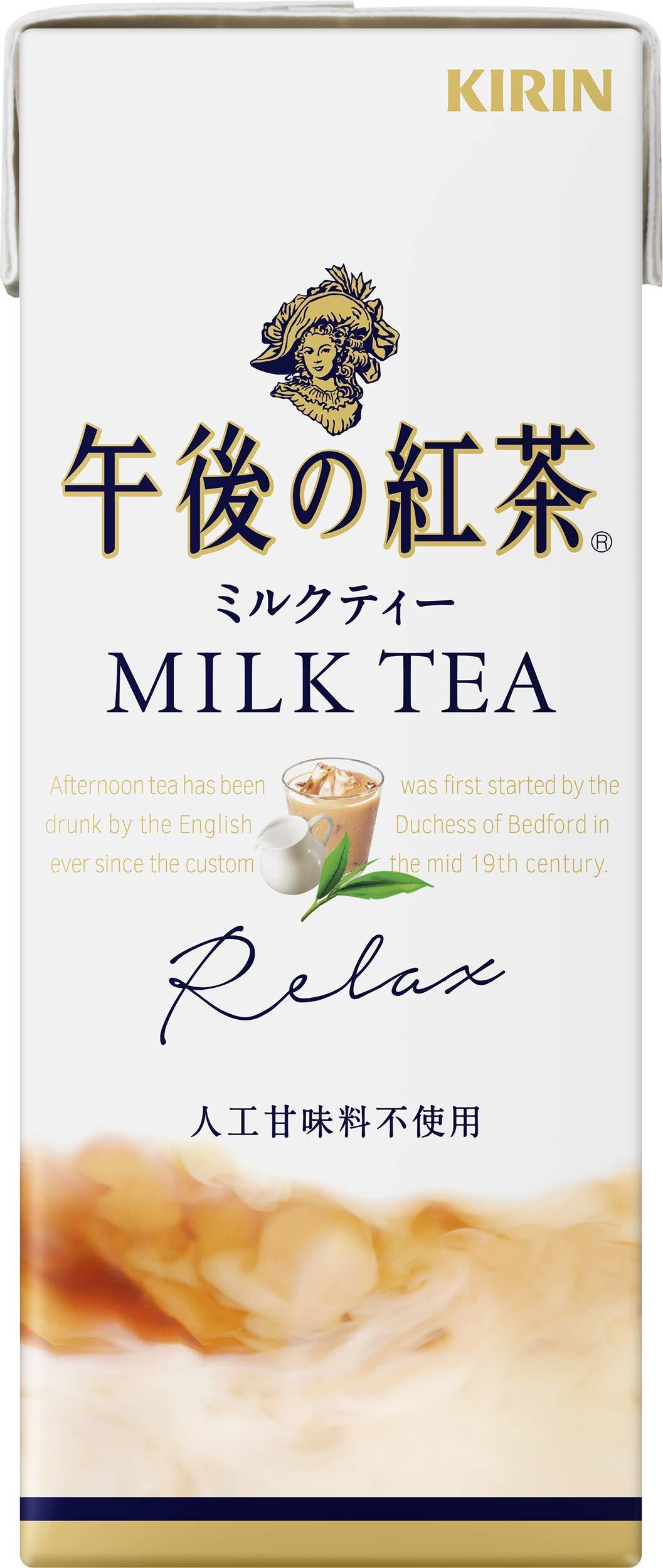 250mlX24 this Kirin afternoon tea milk tea by Afternoon tea