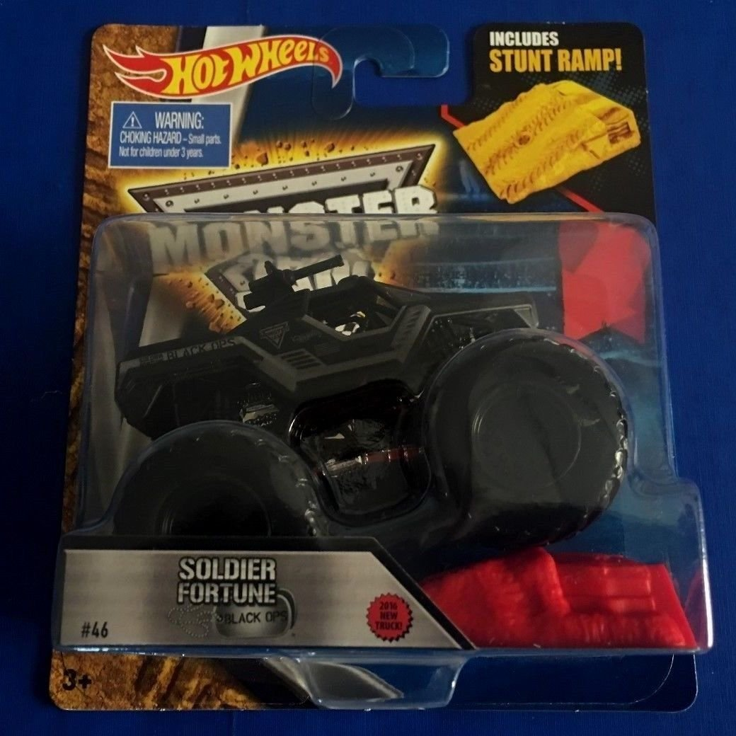 Hot Wheels Monster Jam Soldier Fortune B Buy Online In Bahamas At Desertcart