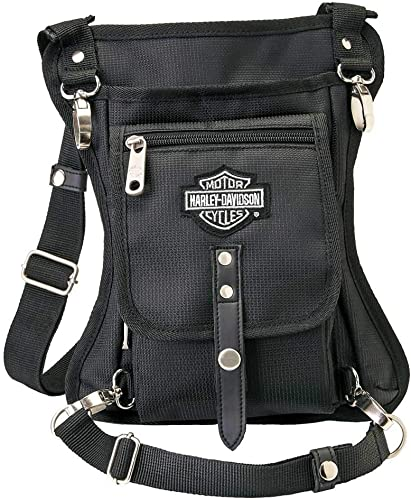 Harley-Davidson Side Slinger 2-in-1 Shoulder Bag/Leg Holster