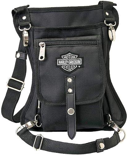Harley-Davidson Side Slinger 2-IN-1 Shoulder Bag/Leg Holster