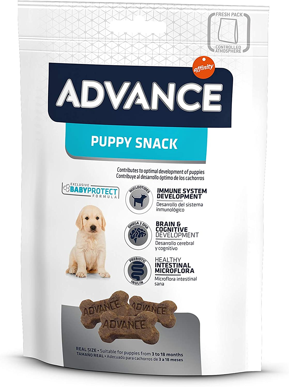ADVANCE Snacks, Para Perro Puppy - Paquete de 7 x 150gr - Total 1050gr
