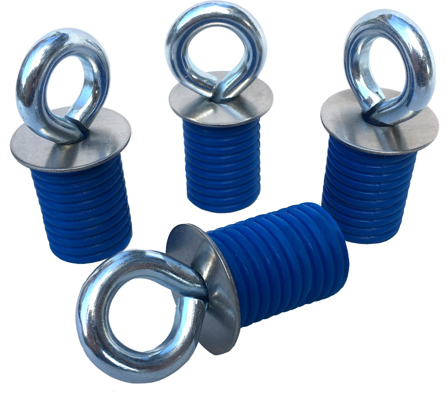 Polaris Lock & Ride ATV Tie Down Anchors for RZR, Sportsman and Ace - Set of 4 Lock and Ride Type Anchors by GripPRO ATV Anchors - THESE DO NOT FIT RANGER MODELS