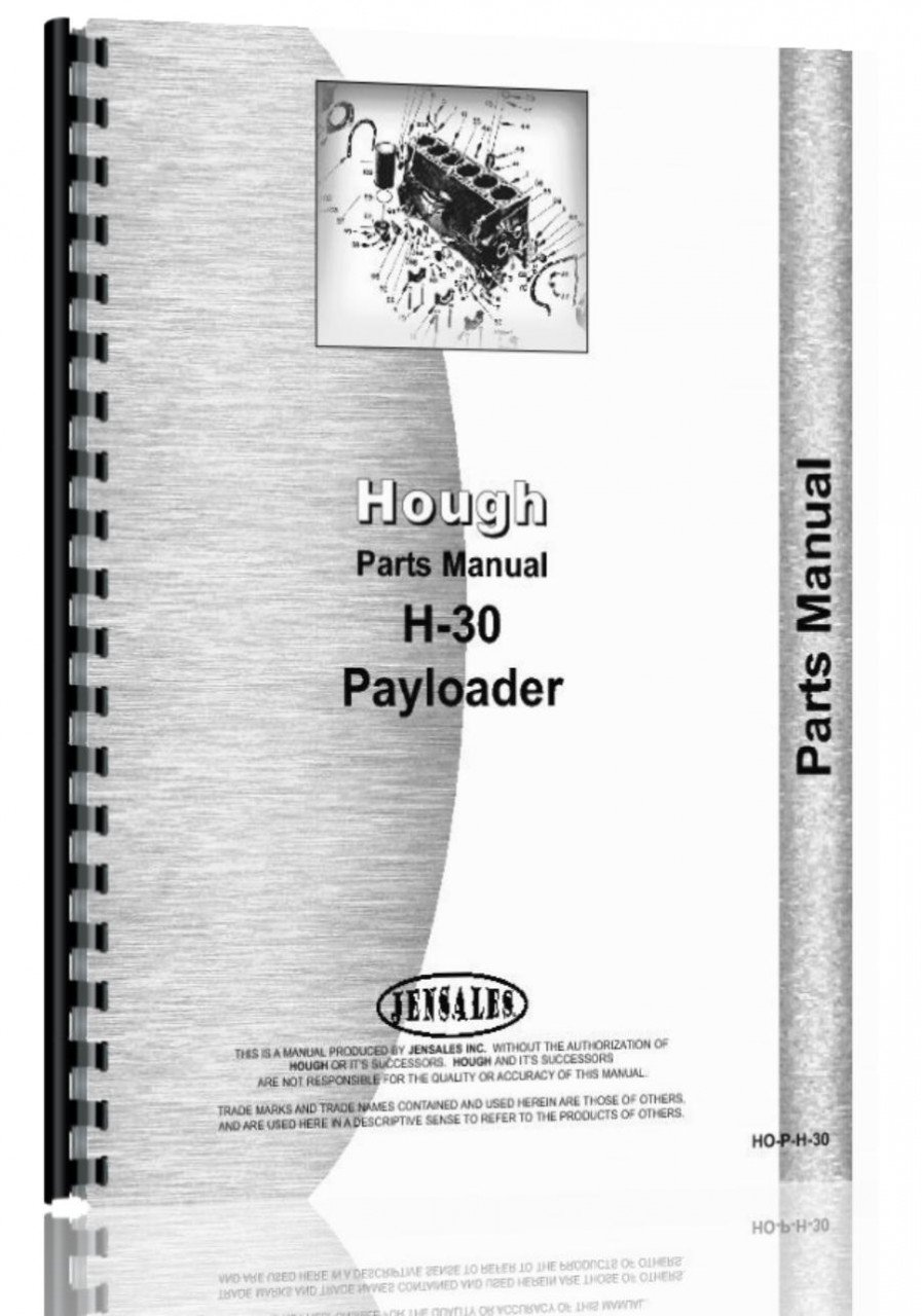Read Online Hough H-30 Pay Loader Parts Manual ebook