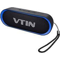 Vtin R4 Altavoz Bluetooth, Altavoz portátil con Bluetooth 5.0, Altavoces para Exteriores con Bajos Ricos y 24 Horas de reproducción, Impermeable IPX5, Compatible con teléfono, Tableta, Samsung y más