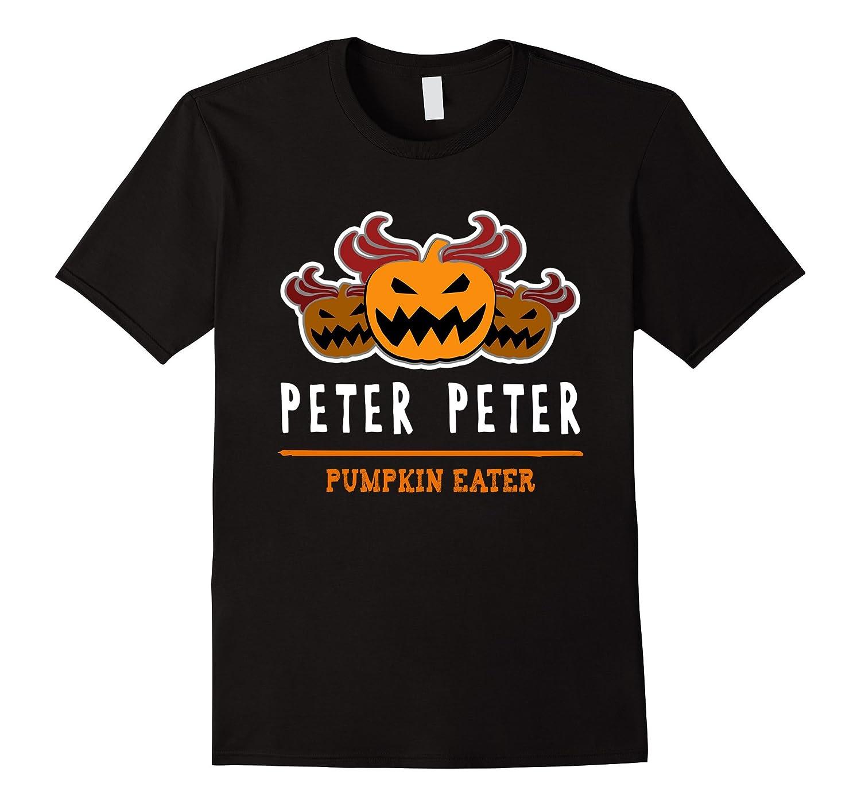 Halloween Costume T-Shirt: Peter Peter Pumpkin Eater Scary-FL