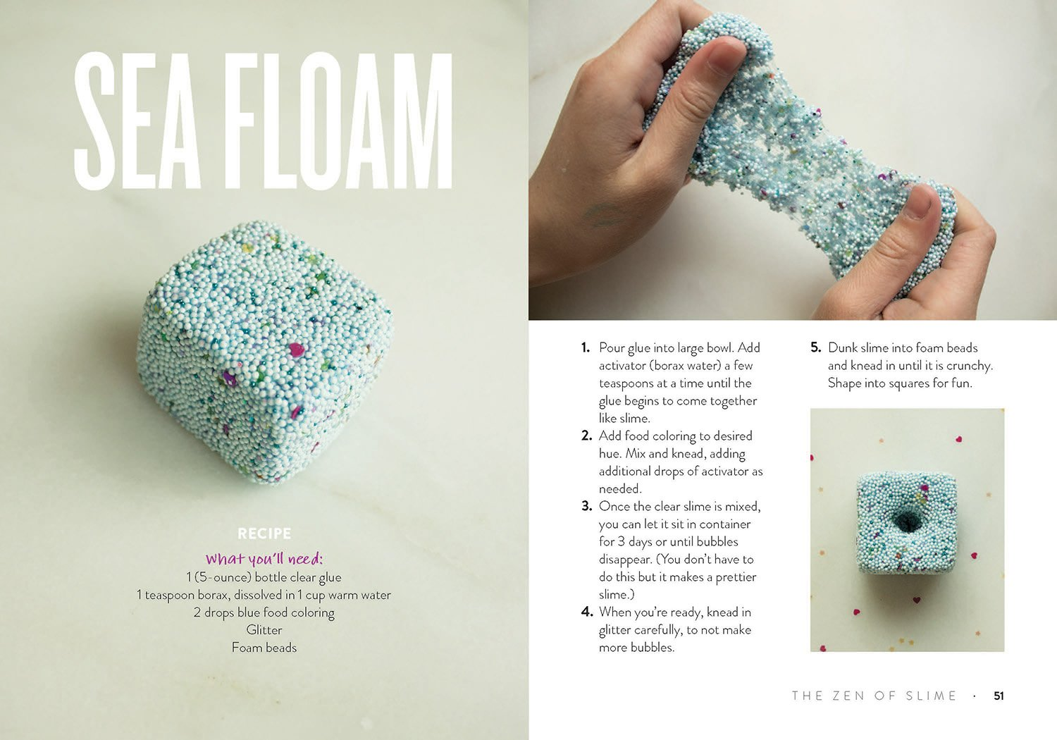 the zen of slime a diy inspiration notebook prim pattanaporn