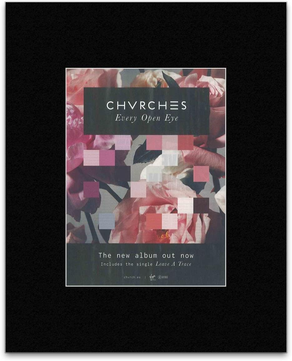 """inch 4 CHVRCHES Poster Wall Print 24/"""" x 36/"""""""