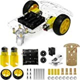 The perseids DIY Robot Smart Car Chassis Kit with Speed Encoder, 2 Wheels and Battery Box (2 Wheels)
