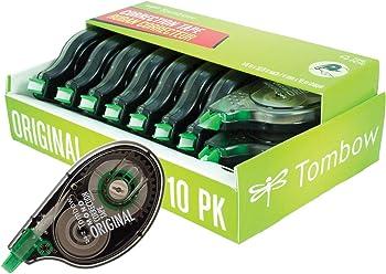 10-Pack Tombow 68720 MONO Original Correction Tape