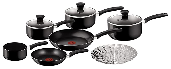 Tefal Delight 7-Piece Set Pots & Pans at amazon