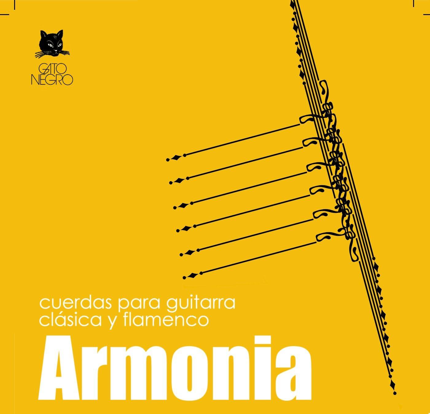 Juego de cuerdas Gato Negro Armonia para guitarra clásica y ...