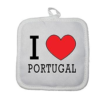 Mygoodprice manopla Guante de Cocina I Love Portugal
