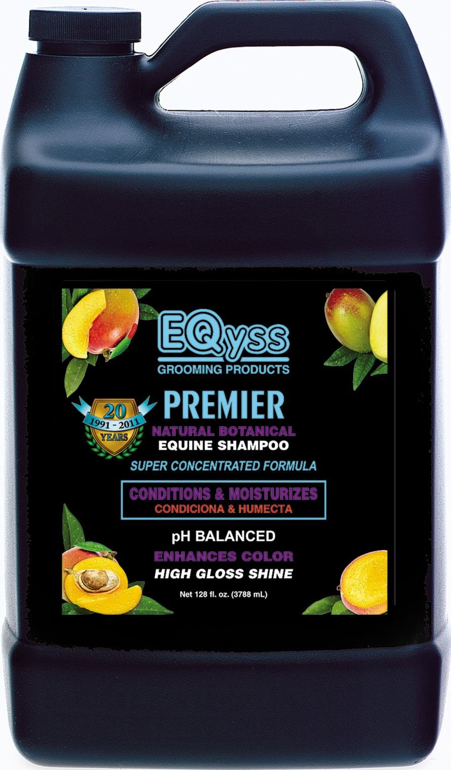 PREMIER NATURAL BOTANICAL EQUINE SHAMPOO - 1 GALLON