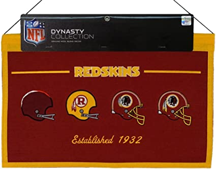 Personalized Customized Washington Redskin Name Poster Sport Banner with Frame