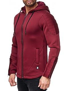 Redbridge Hombres Chaqueta Neoprene Acanalado Deportivo Transición Jacket
