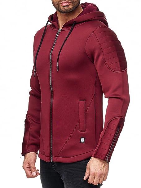 Redbridge Hombres Chaqueta Neoprene Acanalado Deportivo Transición Jacket: Amazon.es: Ropa y accesorios