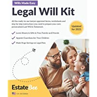 Legal Will Kit: Make Your Own Last Will & Testament in Minutes.... (Estate Planning Series (United States))