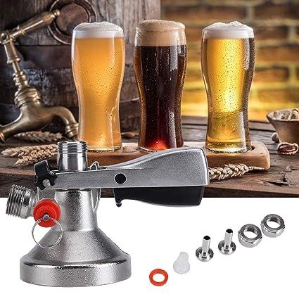 G Type Beer Tap Keg Coupler Beer Keg Tap Beer Faucet System Acogedor Beer Keg Coupler Wine Accessories Beer Keg Connector Grundy Beer Dispenser
