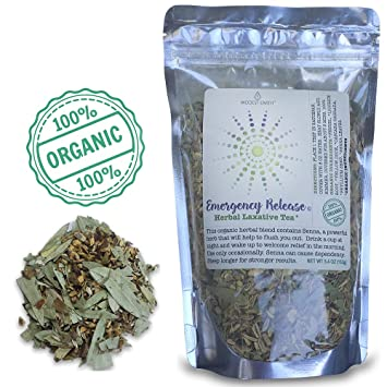 Modest Earth Emergency Release Herbal Laxative Tea | Colon Cleanse,  Digestion, Weight Loss and