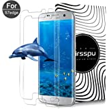 Samsung Galaxy S7 Edge Screen Protector,XUZOU Tempered Glass,9H Hardness,Bubble (2 Packs)