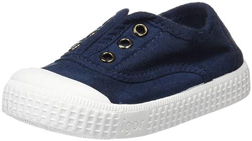 IGOR Berri, Zapatillas sin Cordones Unisex niños: Amazon.es: Zapatos y complementos