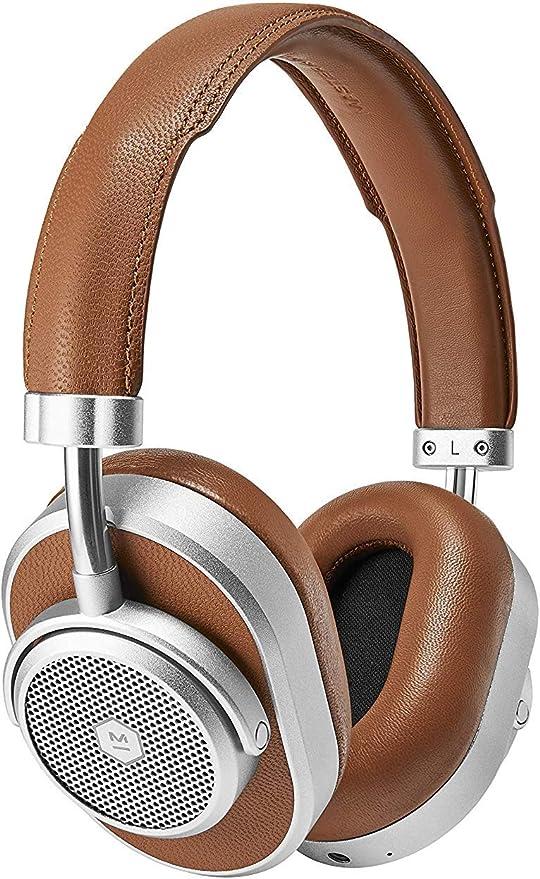 Master & Dynamic MW65 ANC Wireless Over Ear Kopfhörer (Bluetooth 4.2 mit AptX Unterstützung, Aktive Geräuschunterdrückung, 24 Stunden Akkulaufzeit,