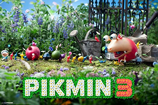 Amazon Com Pyramid America Pikmin 3 Nintendo Wii Real Time