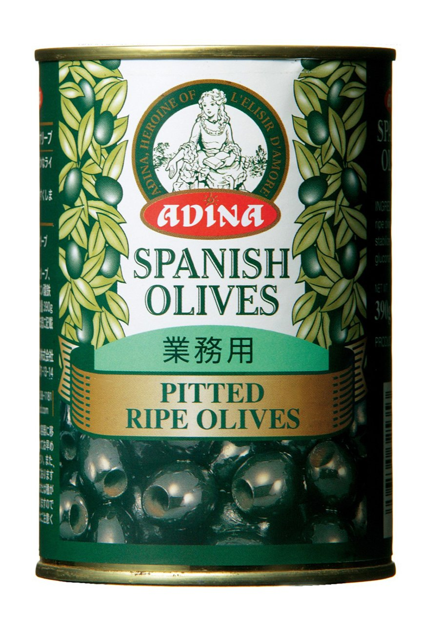 Adina Pitetto ripe olive No. 4 cans 390gX2 this