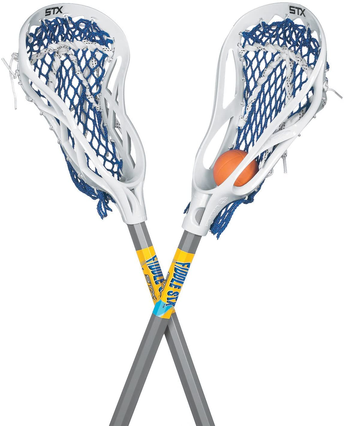 STX FiddleSTX Two Pack Mini Super Power with Plastic Handle and One Ball, 30-Inch : Lacrosse Sticks : Sports & Outdoors