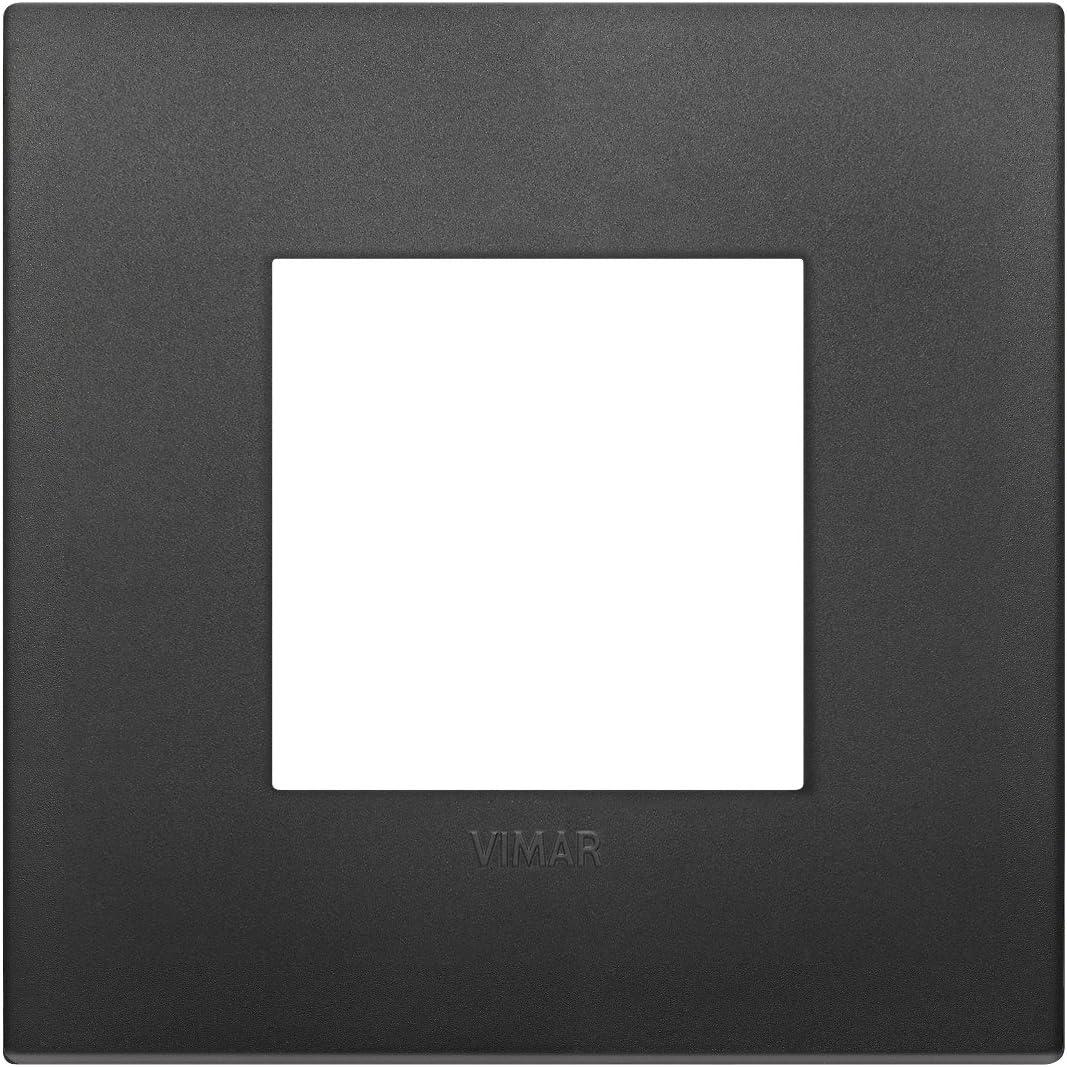 Marco classic 4 m/ódulos tecnopolimero negro Vimar serie arke