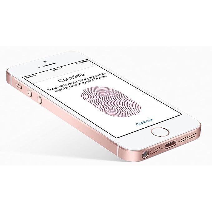 Amazon Com Apple Iphone Se 32 Gb Factory Unlocked Rose Gold