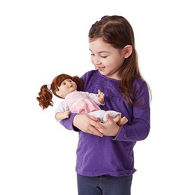 Melissa & Doug Brianna 12-Inch Doll: Melissa & Doug, , 4883: Toys & Games