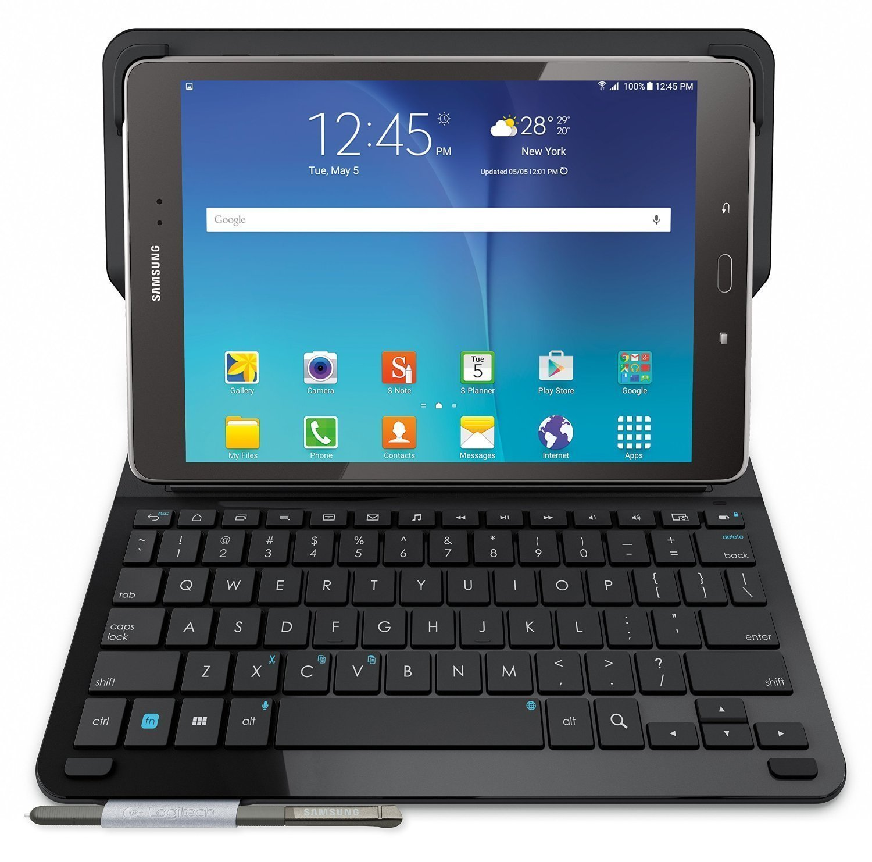 Logitech Type S - Funda con teclado para Samsung Galaxy Tab A 9.7 (Reacondicionado Certificado): Amazon.es: Electrónica
