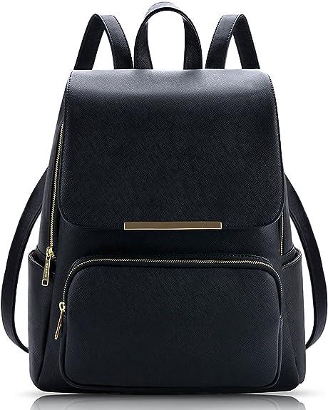 Alice 7 Liters Black Casual Backpack Stylish Girls School Bag College Bag  Casual Backpack Handbag  Amazon.in  Shoes   Handbags 635a2f054f10f
