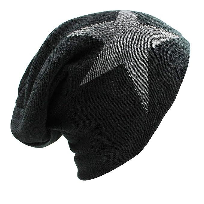 9be4d807a48 cbgxvd Faux Fur Warm Baggy Knitted Hat Men Beanies Knit Bonnet Hats for Men  Women Beanie
