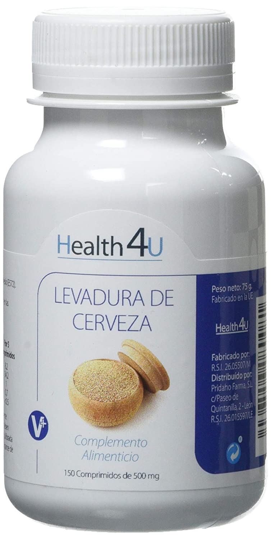 H4U - H4U Levadura de Cerveza 150 comprimidos de 500 mg: Amazon.es: Salud y cuidado personal