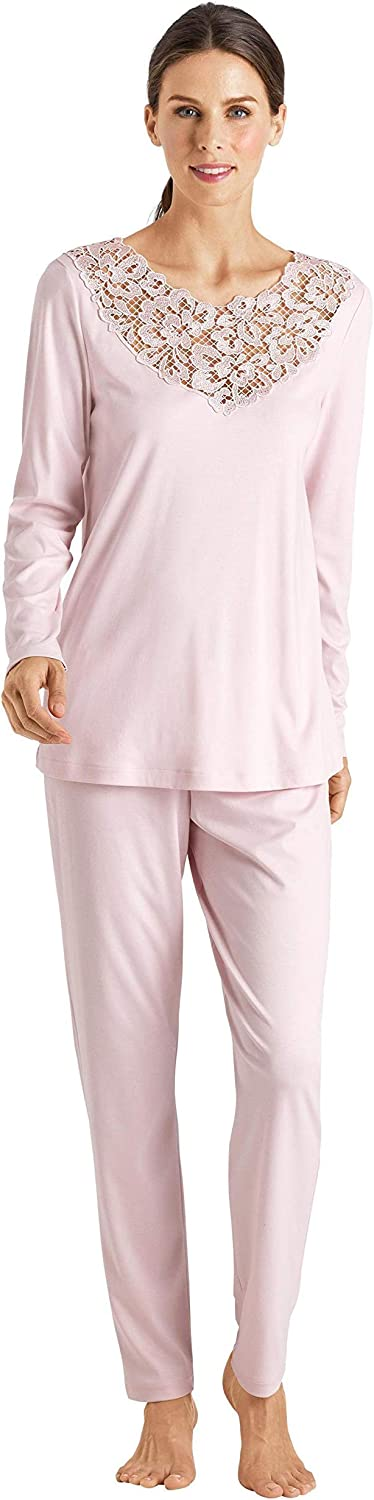 HANRO Women's Najuma Long Sleeve Pajama Set